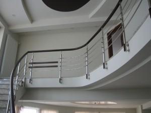 Balustrada interioara